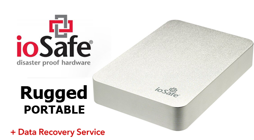 The Iosafe Rugged Portable Is Safest Way To Move Data Whether You Need Protect From Drops During Your Commute Or